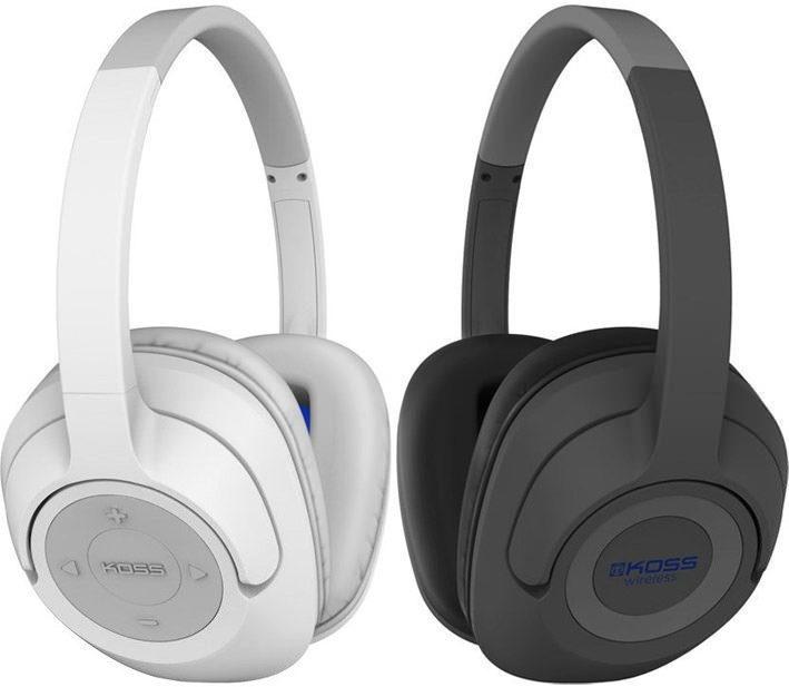 Koss выпустила Bluetooth-наушники BT539i с большими мониторными амбушюрами
