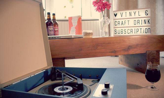 Новый сервис винила по подписке Hurd: теперь с крафтовым пивом