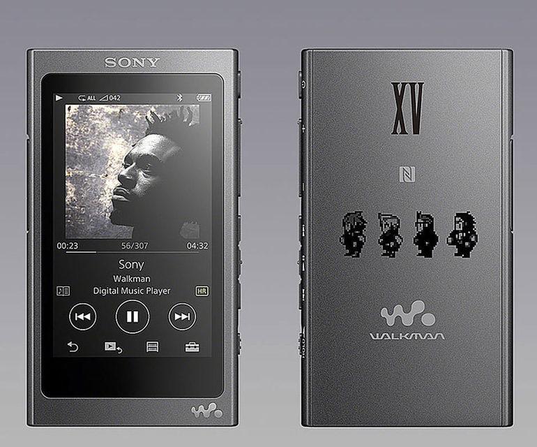 Sony выпустила плеер Walkman для фанатов Final Fantasy XV