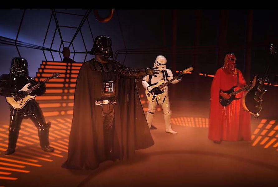 Метал-группа штурмовиков из «Звездных войн» выпустит дебютный альбом