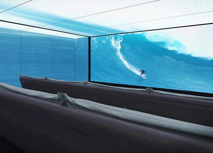 На форуме «Global Superyacht 2016» показали концепт кинозала с эффектом погружения «The Lumiere»