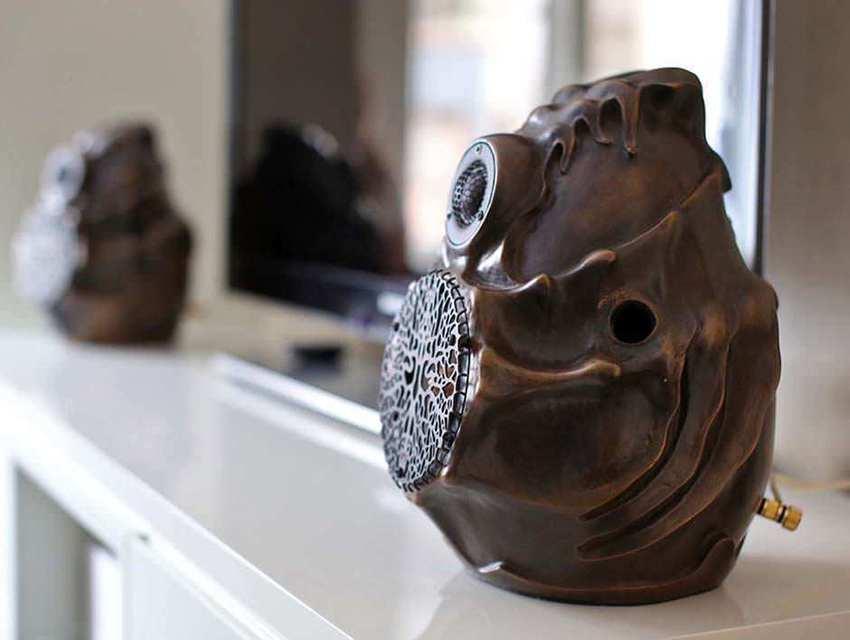 Российская мануфактура «Артзвук» выпустила дизайнерскую полочную акустику Cocoon