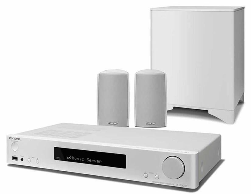 Onkyo выпустила 2.1-канальную систему с ресивером для домашнего кино