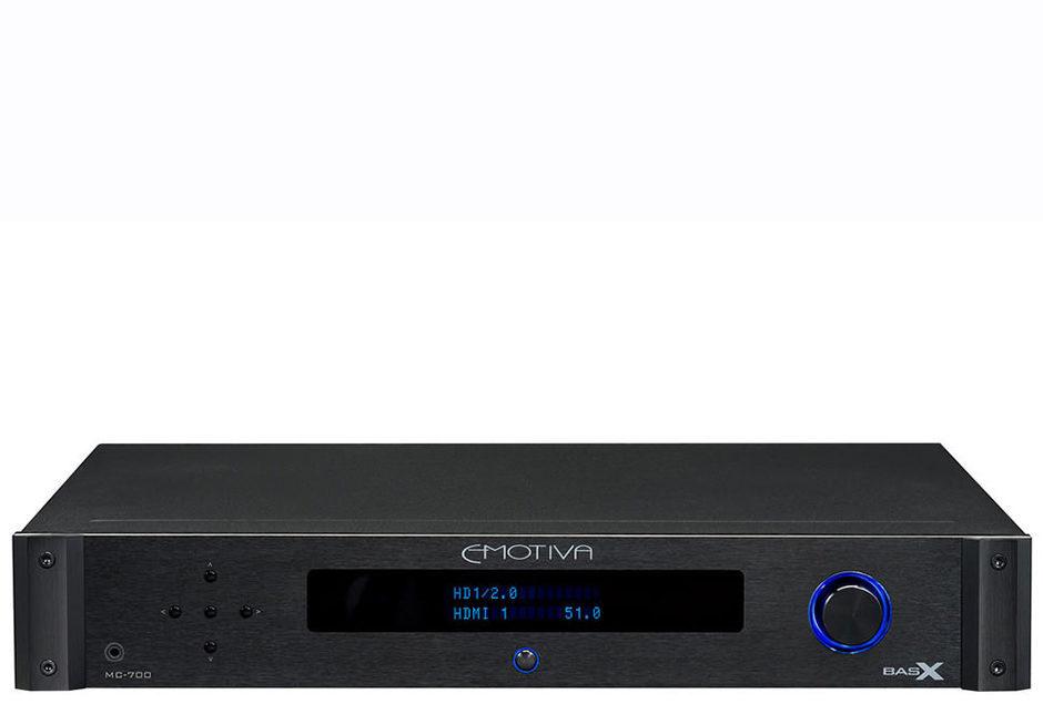 Emotiva выпустила бюджетный 4K-процессор BasX MC-700