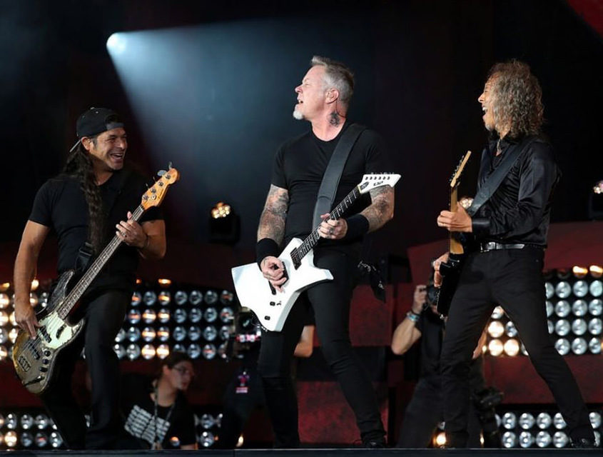 Metallica спела спродавцом продуктового магазина [видео]