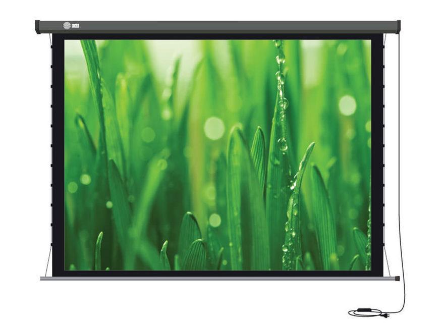 Моторизованные проекционные экраны Cactus Professional