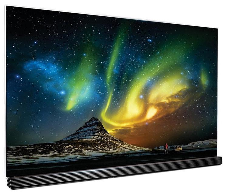 На OLED-телевизорах LG эмулируют северное сияние во время исландского концерта группы Of Monsters and Men