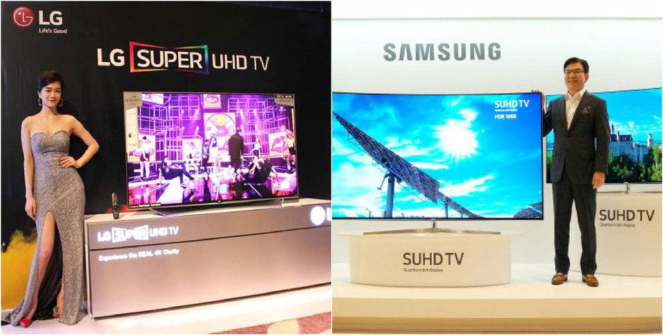 Samsung и LG поспорили из-за аббревиатуры SUHD