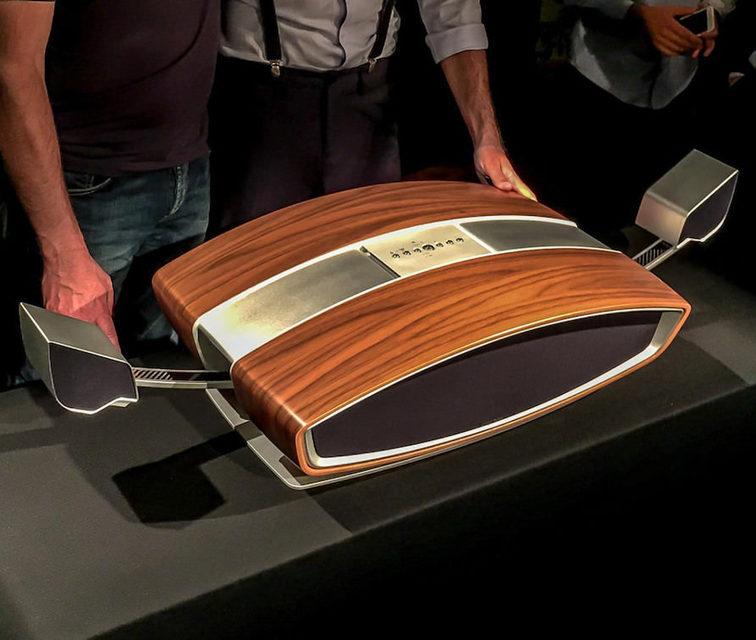 Sonus Faber показала необычную беспроводную lifestyle-акустику SF16