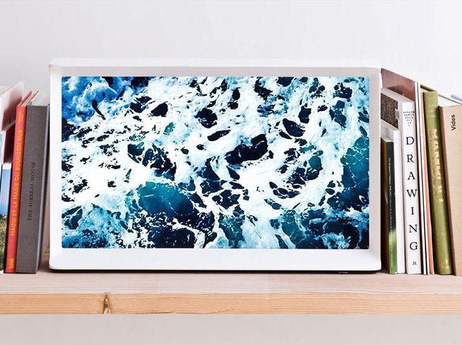 Samsung выпустила дизайнерский телевизор Samsung Serif TV в корпусе с «засечками»