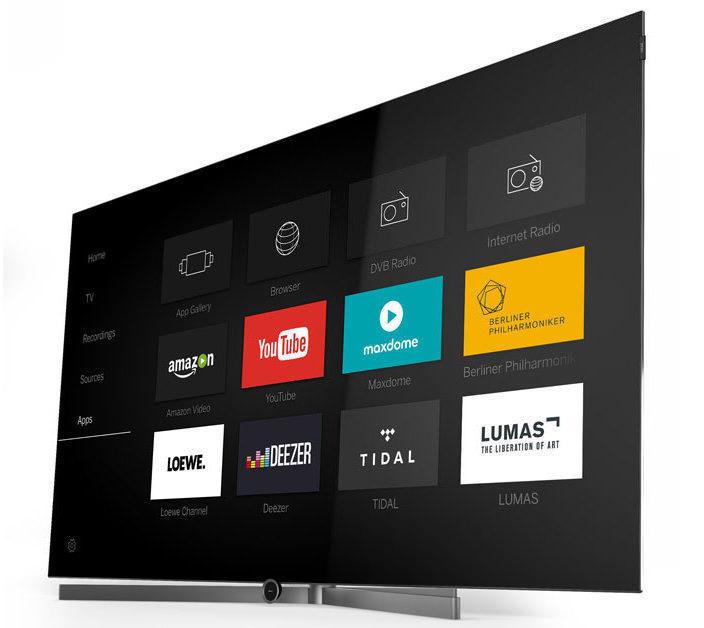 Loewe анонсировала первые OLED-телевизоры в серии VantaVision