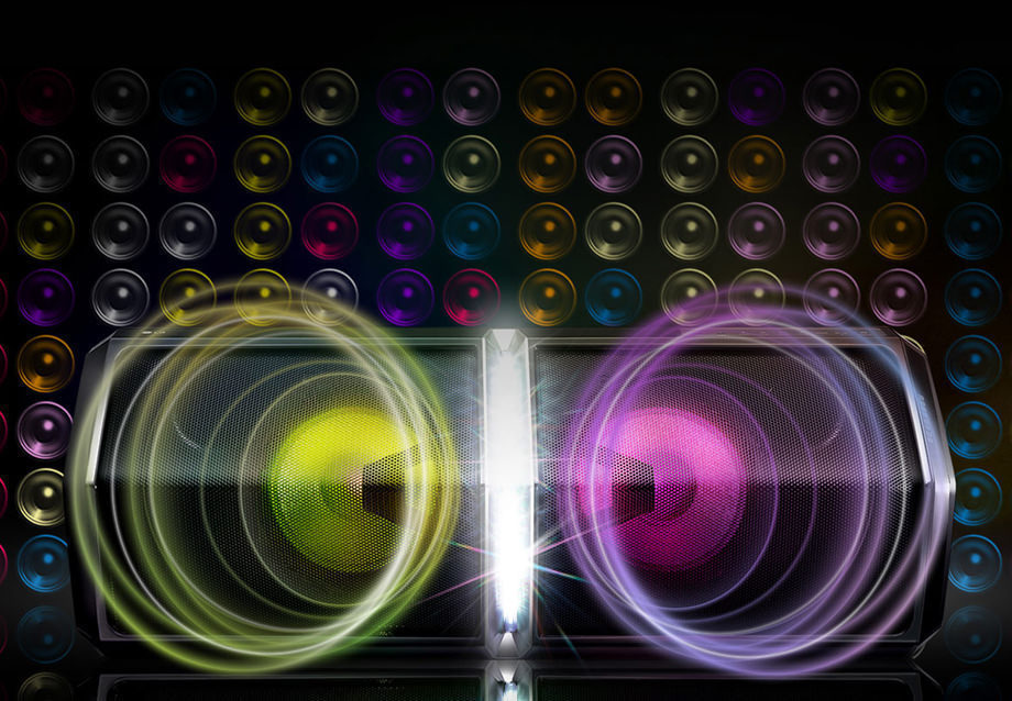 LG представила в России party-колонку XBoom FH6