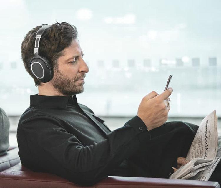 Sennheiser выпустила беспроводные наушники с активным шумоподавлением PXC 550