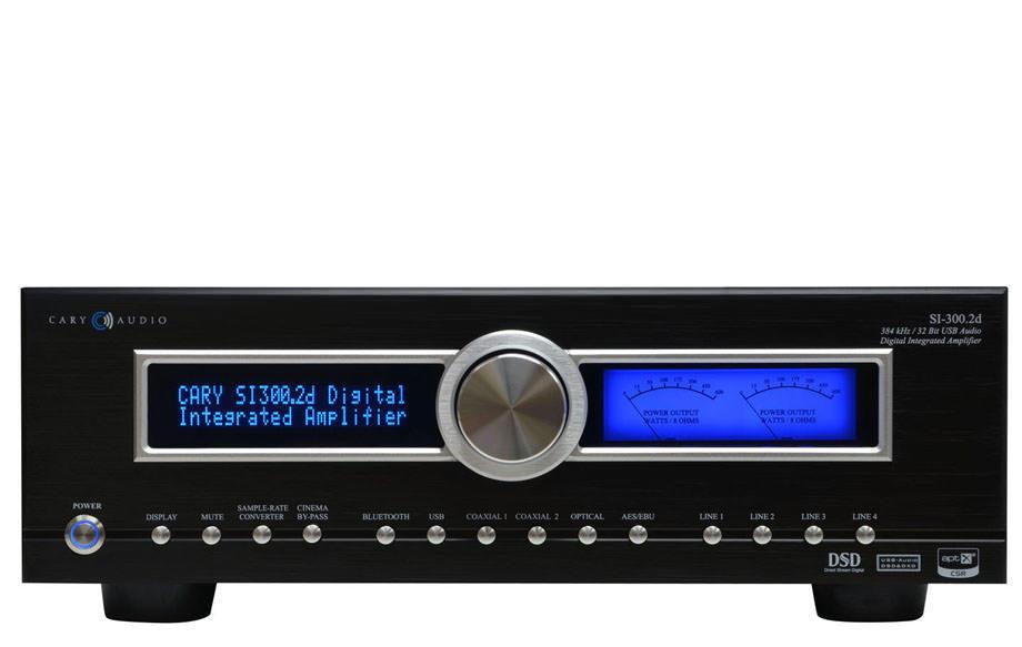Cary Audio выпустила гибридный интегральный усилитель SI-300.2d