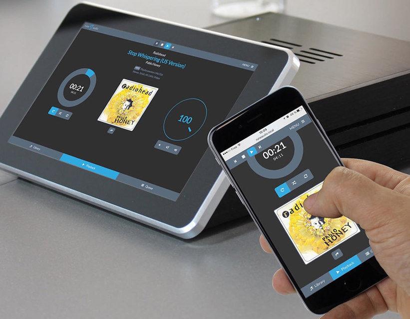 RaspTouch: аудиоплеер на основе RaspberryPi с тачскрином и ЦАПами ESS Sabre
