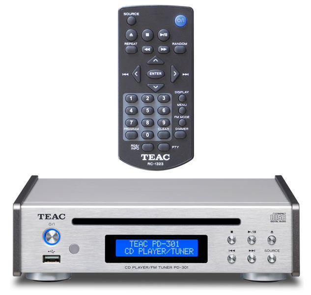 Teac PD-301: компактный CD-плеер с FM-радио и функцией USB ЦАПа
