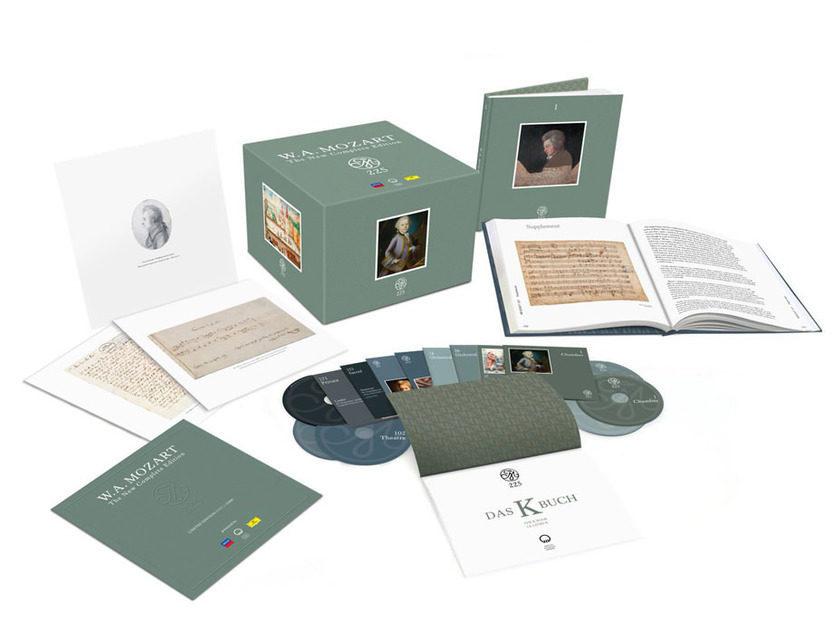 Анонсирован выход крупнейшего бокс-сета из двухсот CD-дисков с записями Моцарта