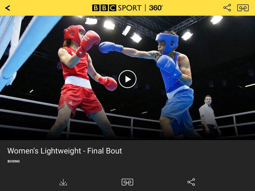 BBC покажет Олимпиаду в формате 360 градусов