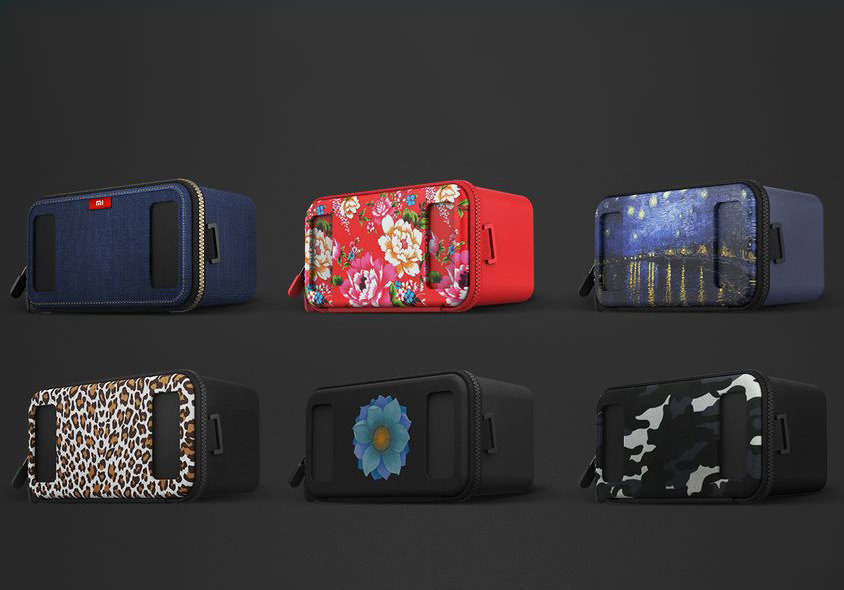 XiaoMi создала VR-гарнитуру «для всех» с разными паттернами на корпусе