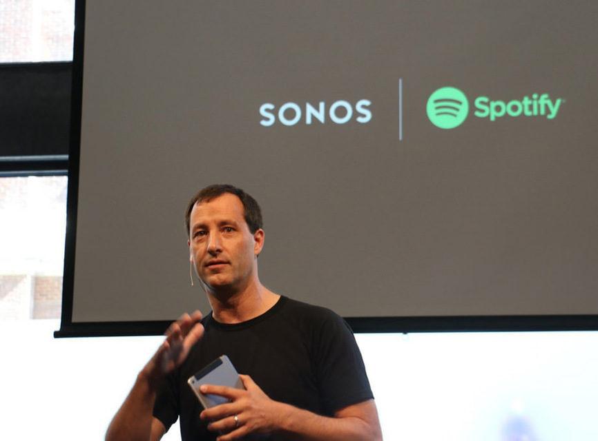 Sonos добавила в свою систему полную интеграцию со Spotify и Amazon Echo