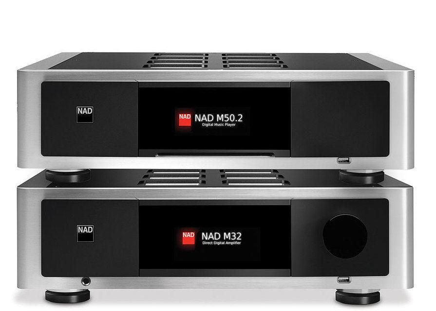 NAD анонсировала новые усилитель и плеер в серии Master
