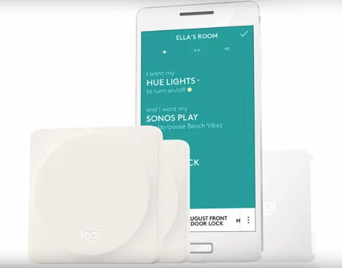 Logitech создала кнопку Pop для управления умным домом