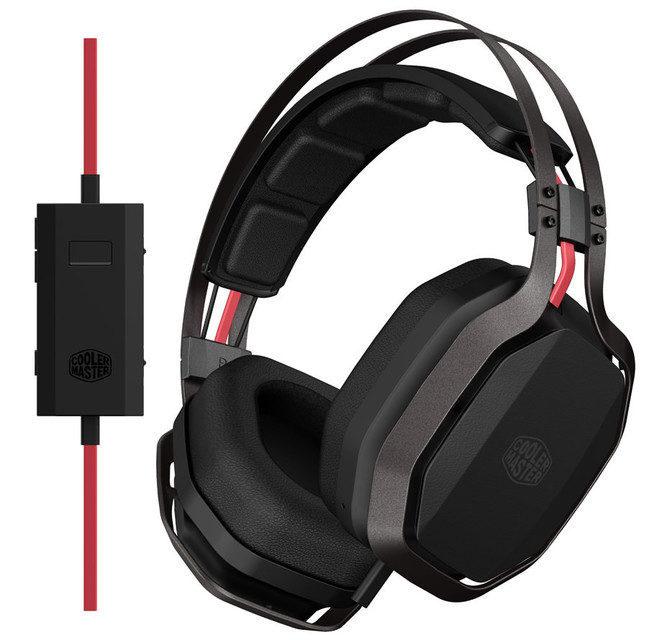 Cooler Master выпустила наушники MasterPulse с «физическим усилением» низких частот
