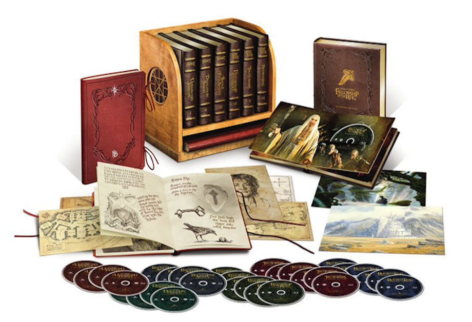 Warner Bros. выпустила Blu-ray бокс-сет «Властелина колец» и «Хоббита»