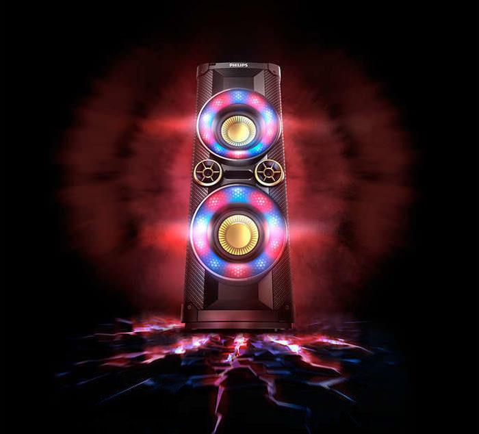 Возвращение светомузыки: Philips выпустила серию аудиодевайсов Nitro с LED-подсветкой
