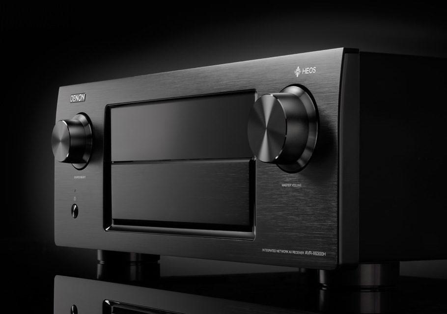 Denon выпустил два AV-ресивера с поддержкой мультирума HEOS: AVR-X4300H и AVR-X6300H