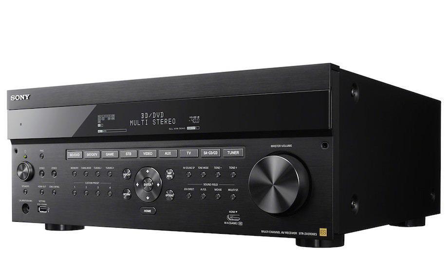 Sony добавила в линейку компонентов ES четыре 4K-ресивера