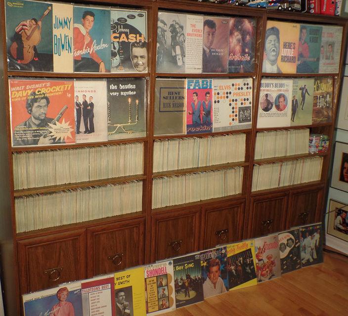 Канадец решил продать коллекцию из 13 000 рок-н-ролльных пластинок