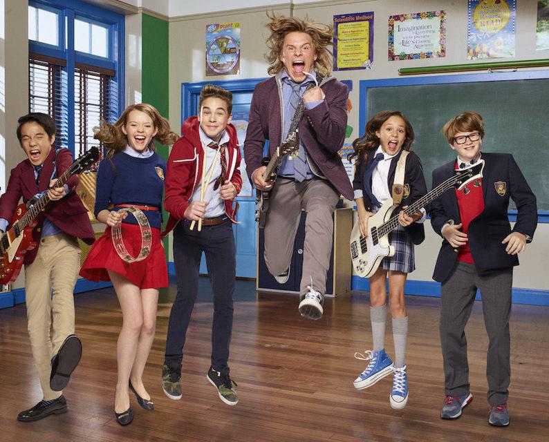 Nickelodeon научит школьников рок любить
