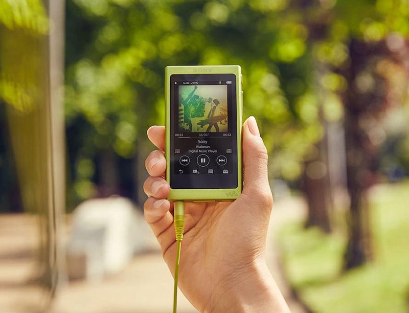 Яркие плееры Sony Walkman NW-A30 с поддержкой Hi-Res-аудио скоро появятся в России