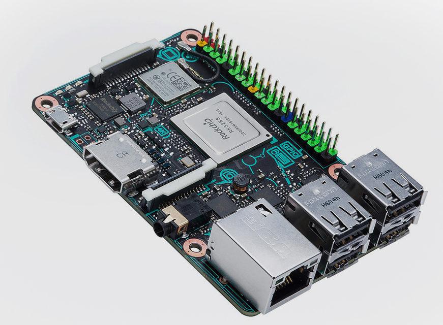 Asus Tinker Board: микрокомпьютер с поддержкой 4K-видео и 24-битного аудио