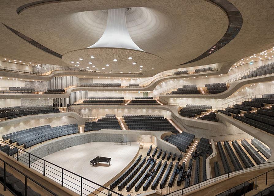 ВГамбурге открылся первый вмире «акустически совершенный» концертный зал