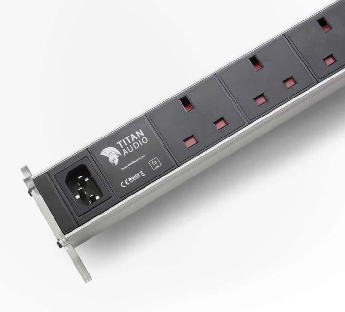 Titan Audio представила сетевой фильтр-распределитель начального уровня Styx