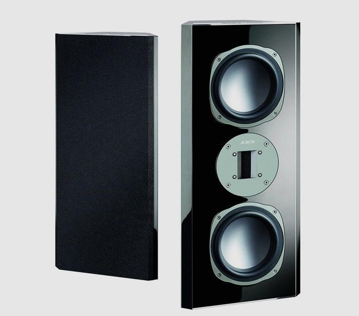 Настенная акустика Aurum Phase 9 от Quadral: ленточный твитер и вуферы из алюминия, титана и магния