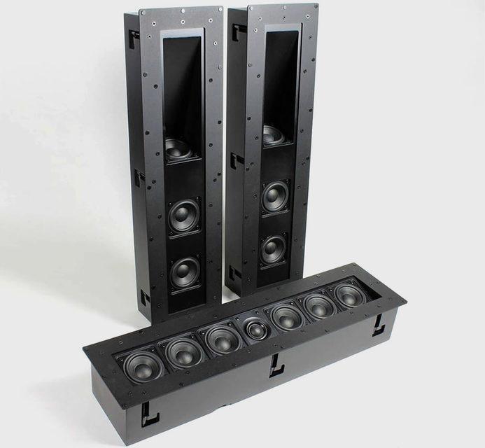 TDG Skybar: 7-канальная встраиваемая аудиосистема из саундбара и двух сателлитов