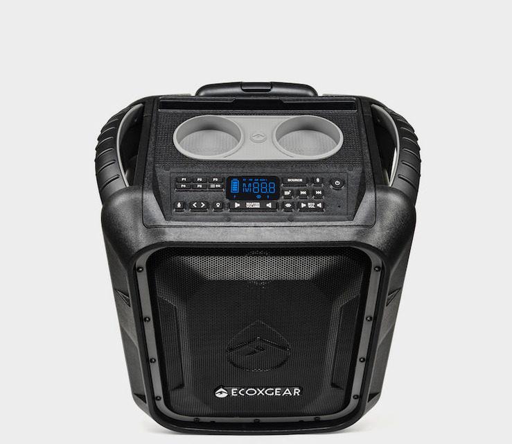 Ecoxgear Ecoboulder+: мощная походная Bluetooth-колонка с защитой от воды