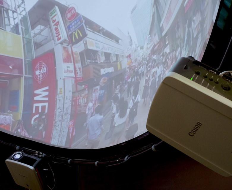DomeSky: проекционный купол для VR-видео