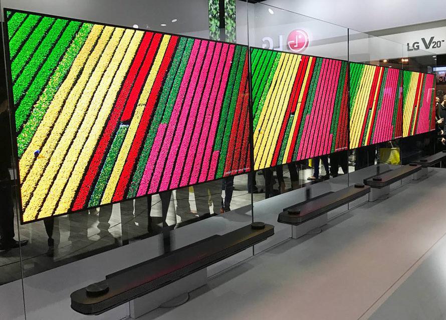 Прогнозы: в следующем году LG Display продаст больше телевизоров-обоев