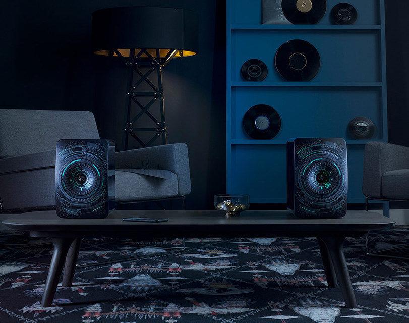 KEF выпустила колонки LS50 Wireless в дизайне Nocturne от Marcel Wanders