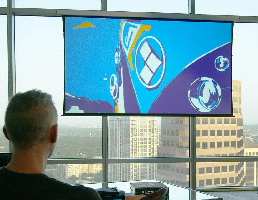 Портативный моторизированный экран для проекторов Screen Innovations Solo поступил в продажу