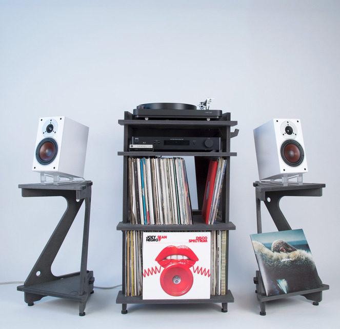 Line Phono выпустила настраиваемые стойки для полочников Speaker Stand