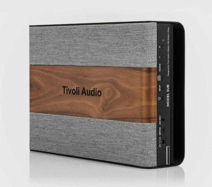 Tivoli Audio выпустила плоский Wi-Fi сабвуфер Model Sub в оригинальном дизайне