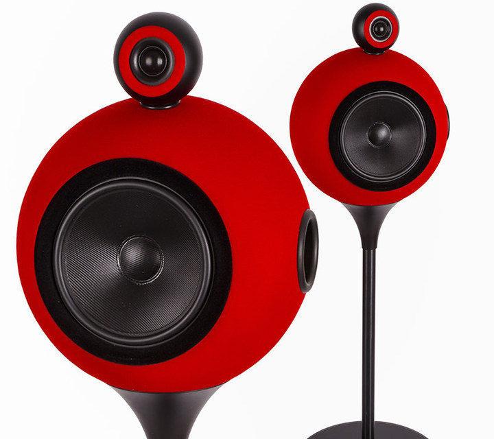 Deluxe Acoustics DAF-350: сферические напольники из Санкт-Петербурга