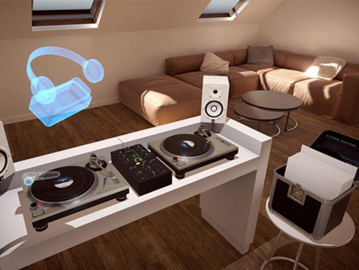 Vinyl Reality: VR-приложение для диджеинга