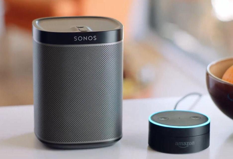 Сервис Spotify на колонках Sonos получит полную интеграцию с Amazon Alexa
