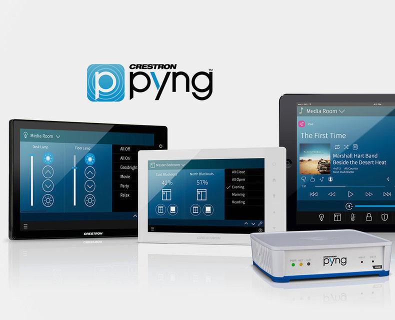 Приложение Crestron Pyng получит поддержку контроля видеоустройств
